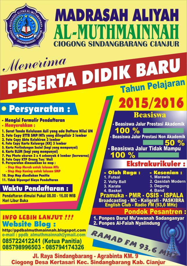 Baligho PPDB 2015